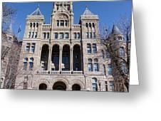 Salt Lake City - City Hall - 2 Greeting Card