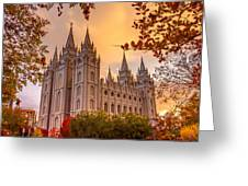 Salt Lake City Temple Greeting Card