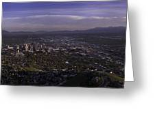 Salt Lake Valley Greeting Card