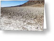 Salt Pan Sands Greeting Card