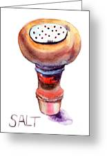 Salt Greeting Card