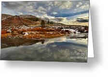 Salt River Landscape Greeting Card