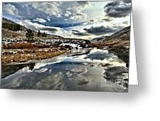 Salt River Pass Greeting Card