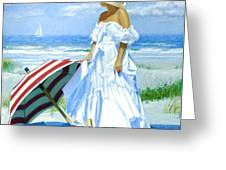 Salt Water Blues Greeting Card