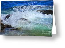 Salt Water Serenade Greeting Card