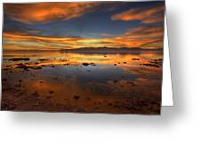 Salton Sea Color Greeting Card