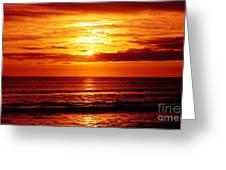 Salty Sunrise Greeting Card