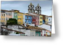 Salvador Brazil The Magic Of Color Greeting Card