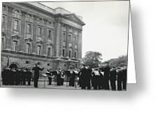 Salvation�s Play At Palace Greeting Card