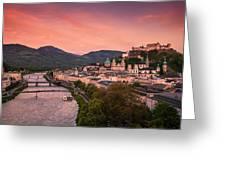 Salzburg 02 Greeting Card by Tom Uhlenberg