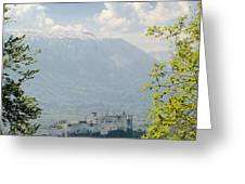 Salzburg Fortress 1 Greeting Card