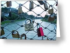 Salzburg Gypsy Locks Greeting Card