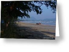 Sam Roi Yod Beach Greeting Card