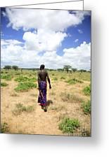 Samburu Chief Greeting Card