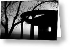 Samhain Series 2 Fairbanks Park Terre Haute Indiana Greeting Card
