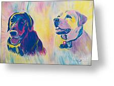 Sammy And Toby Greeting Card