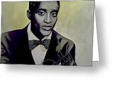 Sammy Davis Jr. Greeting Card