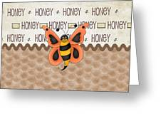 Sammy The Honey Bee Greeting Card
