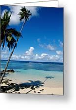 Samoan Paradise Greeting Card