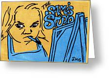 Sam's Studio Greeting Card
