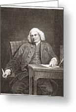 Samuel Johnson, English Author Greeting Card