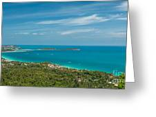 Samui Thailand Greeting Card