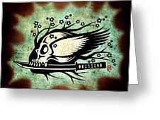 Samurai Spirit Greeting Card
