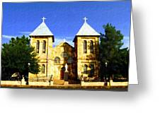 San Albino Church Greeting Card