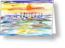 San Antonio Bay Greeting Card
