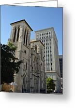 San Antonio Church 04 Greeting Card