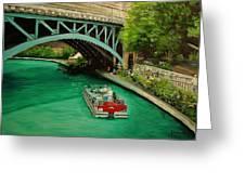 San Antonio Riverwalk Greeting Card by Stefon Marc Brown