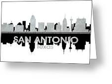 San Antonio Tx 4 Greeting Card