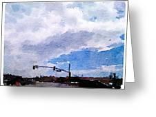 San Benito Sky Greeting Card