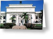 San Buenaventura City Hall Building California Greeting Card
