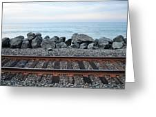 San Clemente Coast Railroad Greeting Card
