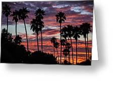 San Clemente Sunset Greeting Card