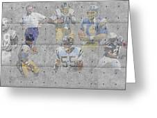 San Diego Chargers Legends Greeting Card