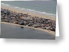 San Diego Coast Aeriol 3 Greeting Card