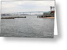San Diego Coronado Bridge 5d24351 Greeting Card