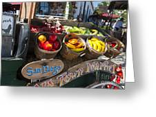 San Diego Old Town Market Greeting Card