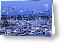 San Diego Twilight Greeting Card