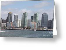 San Diego Waterfront Greeting Card