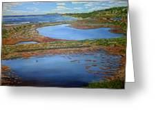 San Elijo Lagoon Greeting Card