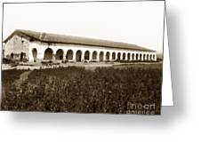 San Fernando Mission Circa 1900 Greeting Card
