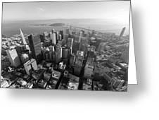 San Francisco Aerial Greeting Card