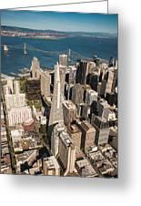 San Francisco Aloft Greeting Card