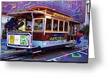 San Francisco Cable Car No. 17 Greeting Card