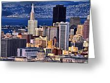 San Francisco Greeting Card by Camille Lopez