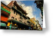 San Francisco - Chinatown 003 Greeting Card by Lance Vaughn