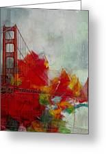 San Francisco City Collage Greeting Card